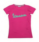 Vespa T-Shirt Women's Pink XL - 606231M04P