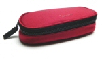 Vespa Oval Pen Case, Red -606350M005