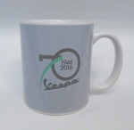 Vespa Coffee Mug 70th Anniv, Grey - 606450M00G