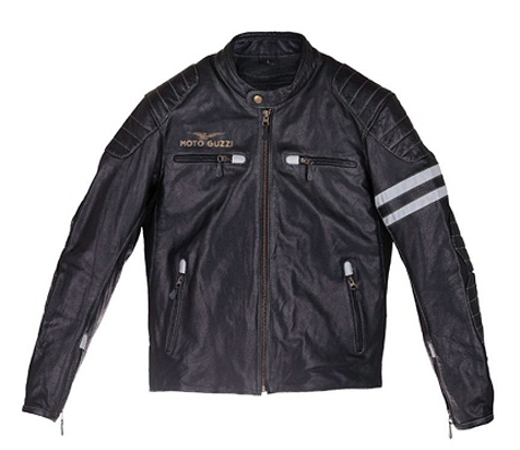 Moto Guzzi Men's Leather Jacket, XXL - 606466M04N