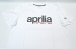 OEM Aprilia Racing T-Shirt, White -606475M0xW