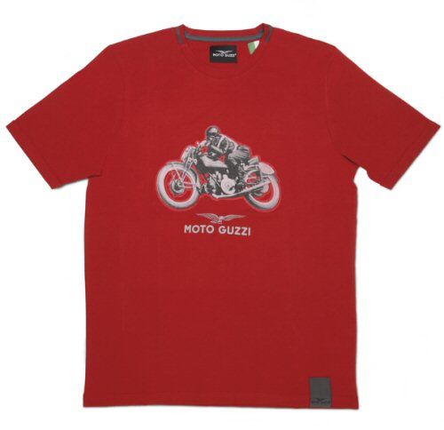 OEM Moto Guzzi T-Shirt, Red - 606478M0xR