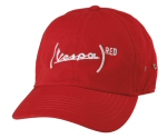 Vespa (Red) Baseball Cap