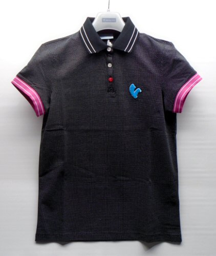 Vespa Woman's Polo, Black size M - 606635M02B