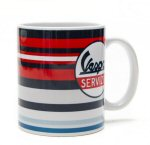 OEM Vespa Stripes Coffee Mug - 606764M004