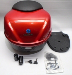 OEM Piaggio Top Box, (811/A Red) - 62389800RF
