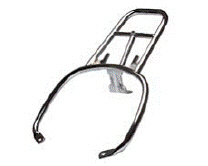 OEM Vespa Chrome Plated Rear Carrier - 657081