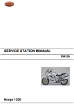 OEM Moto Guzzi Svc Station Manual '06-'08 Norge