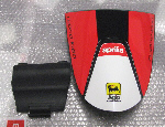 OEM Aprilia Saddle Cover Kit, Red - #854975