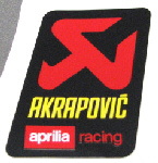 OEM Aprilia Decal Akrapovic -#860755