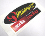 "OEM Aprilia ""Decal Akrapovic"" (OLD) -#8797215"