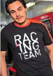 Aprilia Accessories Racing Team T-Shirt  Black '10