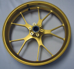 OEM Aprilia Forged Alum Front Wheel -GOLD-B0450925