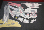 OEM Aprilia Alitalia Decal set For SR50 - 897901