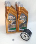 AF1 Castrol Oil Change Kit For Moto Guzzi 1400's
