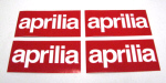 Aprilia Logo Stickers - 4 pack
