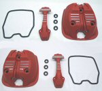 OEM Moto Guzzi Red Valve Cover Kit for V7 III & V9