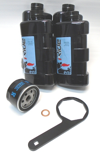 AF1 Racing Oil Change Kit w/Tool Shiver&Dorso 750
