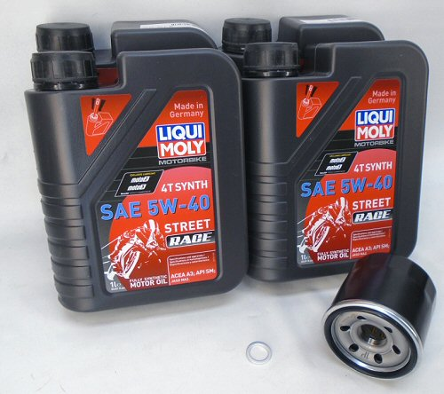 AF1 Racing LiquiMoly Oil Change Kit '11-'19 V4's