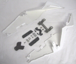 AF1 RSV4 Tail Conversion Kit For Tuono V4 - White