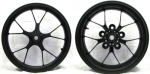 Aprilia Accessory Forged Aluminum Wheels, Black