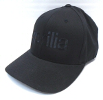 Black Aprilia Logo Hat