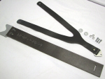 OEM Moto Guzzi BROWN Belt Tank Strap Kit For V7's