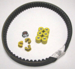 Belt & Rollers Kit For 150cc Scooters NO TOOLS