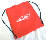 AF1 Racing Drawstring Bag - Red