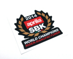 2014 WSBK Championships Decal - Black Background