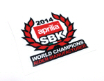 2014 WSBK Championships Decal - White Background