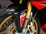 "AF1 Racing ""Red Aprilia Text"" Fender Decal - Pair"