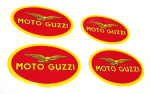 Moto Guzzi Decal - 4 Pack