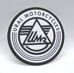 IMZ-Ural Vinyl Decal  3 Inch Diameter, Sold Each