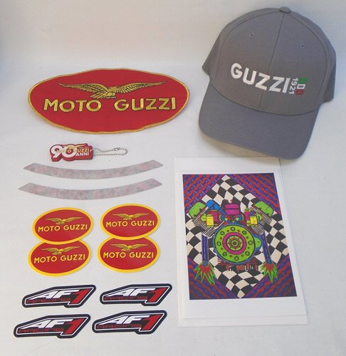 Moto Guzzi Fan's Gift Assortment 2018 w/MD Hat