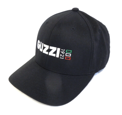 *BLACK* Moto Guzzi Iconic 1921 Logo Hat