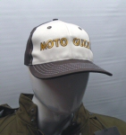 Moto Guzzi Logo Hat, Brown