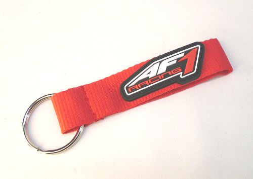 AF1 Racing Red Keychain PVC