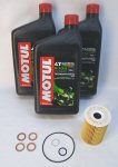 Norton Motul 5100 Oil Change Kit-SuperMag Drn Plug
