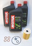 Norton Motul 5100 Oil Change Kit [stock drn plug]