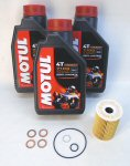 Norton Motul 7100 Oil Change Kit-SuperMag Drn Plug