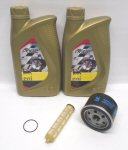 AF1 Agip/Eni Oil Change Kit for 500cc Scooters
