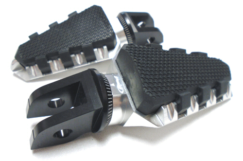 Puig Trail Rubber Coated Foot Pegs -PAIR