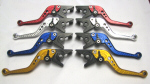 Pazzo Adjustable Aluminum Long Levers Kit -Blue