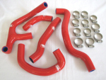 Samco Silicone Hose Kit, Red For '98-'04 RS250