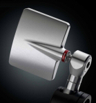 Rizoma Spy Q Bar End Mirror Silver
