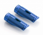 Rizoma Pro Anodized Alu Footpeg, Blue -PAIR