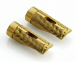 Rizoma Pro Anodized Alu Footpeg, Gold -PAIR