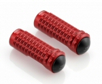 Rizoma B-Pro Anodized Alu Footpeg, Red -PAIR