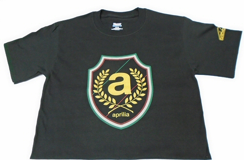 AF1 Racing Aprilia Shield T-Shirt 100% Cotton